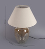 Mariana Table Lamp in Cream by CasaCraft