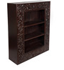 Abingdon Book Shelf in Passion Mahogany Finish by Amberville