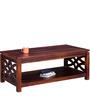 Enumclaw Coffee Table in Honey Oak Finish by Woodsworth
