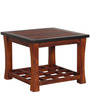 Toledo Coffee Table in Two Tone Finish by Woodsworth