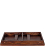 Kennewick Portable Laptop Table in Provincial Teak Finish by Woodsworth