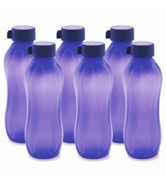 Cello Aqua Kool Pp Violet Polypropylene 1.1 L Bottle - Set Of 6