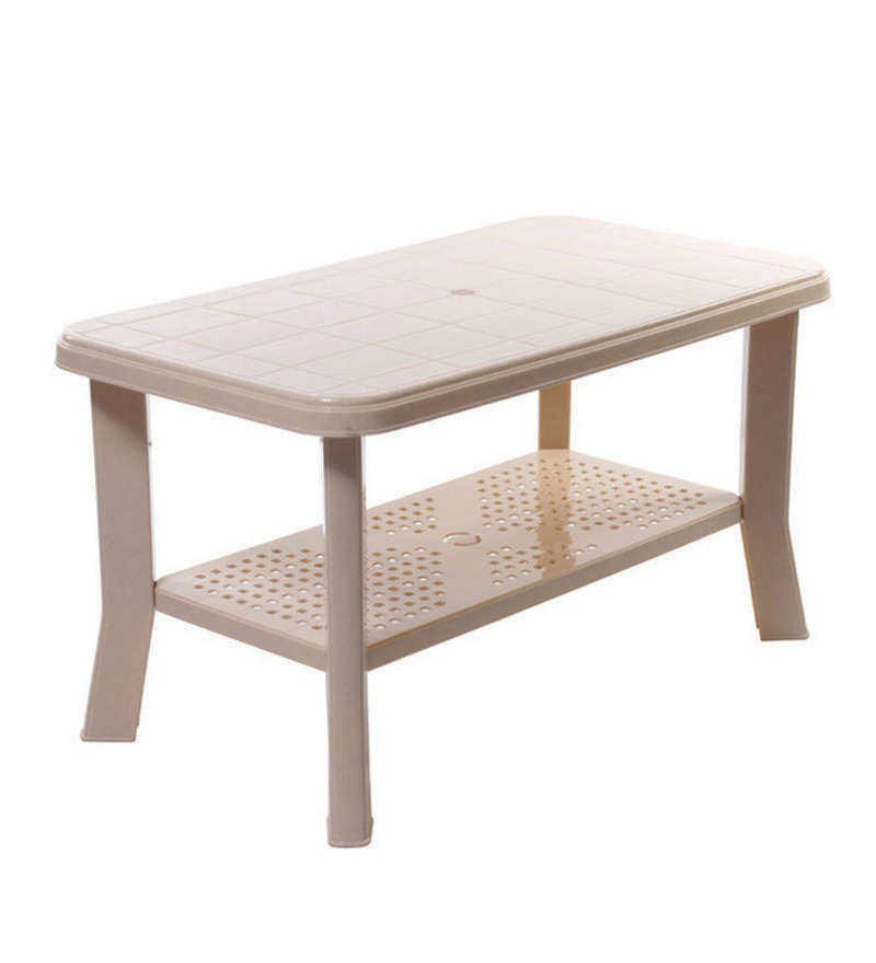 Oasis Centre Table in Beige colour by Cello  available at Pepperfry for Rs.866