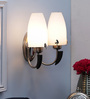 Cecilio Wall Light in White by CasaCraft