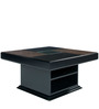 Engineered Wood Center Table in Black Color by Kurl-On