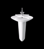 Cera Canopy White Ceramic Wash Basin