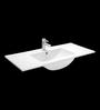 Cera Celene White Ceramic Wash Basin