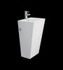Cera Charles White Ceramic Wash Basin