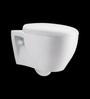 Cera Cheree White Ceramic Water Closet with Seat Cover