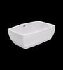 Cera Chest White Ceramic Wash Basin