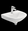 Cera Chico White Ceramic Wash Basin