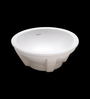Cera Circle White Ceramic Wash Basin