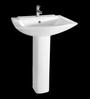 Cera Concord White Ceramic Wash Basin without pedastal