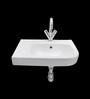 Cera Corren White Ceramic Wash Basin