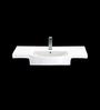 Cera Crawford White Ceramic Wash Basin