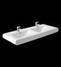 Cera Cushman White Ceramic Wash Basin