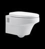 Cera Pallazo White Ceramic Water Closet with Seat Cover