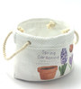 Importwala Ceramic Hanndpainted Sack Planter