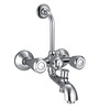 Ceramix Wall Mixer 3X1 with telephonic shower arrangement and overhead pipe
