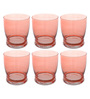 Cerve Giove Glass 340 ML Water Tumblers - Set of 6