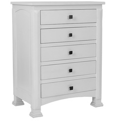 Chest of Drawers in White Colour by The Yellow Door Store
