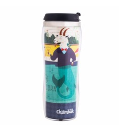 Chumbak Cool Capricorn Stainless Steel & Plastic 380 ML Sipper Water Bottle