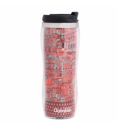 Chumbak Enchanting Monuments Stainless Steel & Bpa Free Plastic 380 ML Sipper Water Bottle