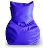 Chair Bean Bag (Cover Only) L size in Blue Colour  by Style Homez