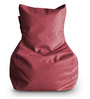 Chair Bean Bag (Cover Only) L size in Maroon Colour  by Style Homez