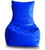 Chair Bean Bag (Cover Only) XXXL size in Blue Colour  by Style Homez