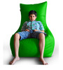 Chair Bean Bag (Cover Only) XXXL size in Green Colour  by Style Homez
