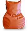Chair Bean Bag L size in Orange Colour with Beans by Style Homez