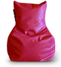 Chair Bean Bag L size in Red Colour with Beans by Style Homez