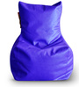 Chair Bean Bag XXXL size in Blue Colour with Beans by Style Homez