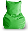 Chair Bean Bag XXXL size in Green Colour with Beans by Style Homez