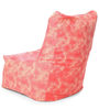 Chair Cotton Canvas Abstract Design Bean Bag XXL Size Cover Only by Style Homez