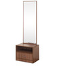 Champion Dressing Table in Walnut Brown by @Home