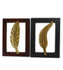 Waldron Wall Hanging Set of 2 in Multicolour by Amberville