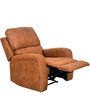 Chase One Seater Sofa with Recliner in Sepia Brown Colour by @home