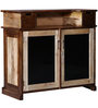 Chelan Bar Cabinet in Dual Tone Finish by Woodsworth