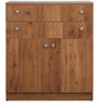 Chest of Drawers in Natural Pine Finish by Crystal Furnitech