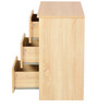 Shikotsu Chest of Six Drawers in Natural Finish by Mintwud