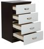 Chest of Four Drawers in White Colour by Penache Furnishings