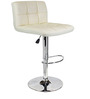 Chex Bar Chair in White Colour by The Furniture Store