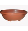 Chhajed Garden Small Plastic Oval Pot - Set of Four