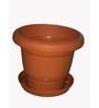 Chhajed Garden Plastic Round Pot - Set of Four