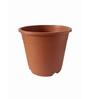 Chhajed Garden Terracotta Plastic Round Pot - Set of Four