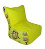 Chhota Bheem Digital Printed Bean Chair Cover in Multicolour by Orka
