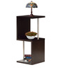 Chikanori Two Tier Display Unit in Cappucino Finish by Mintwud