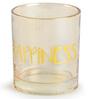 Chumbak Golden Happiness 200 ML Rock Glass